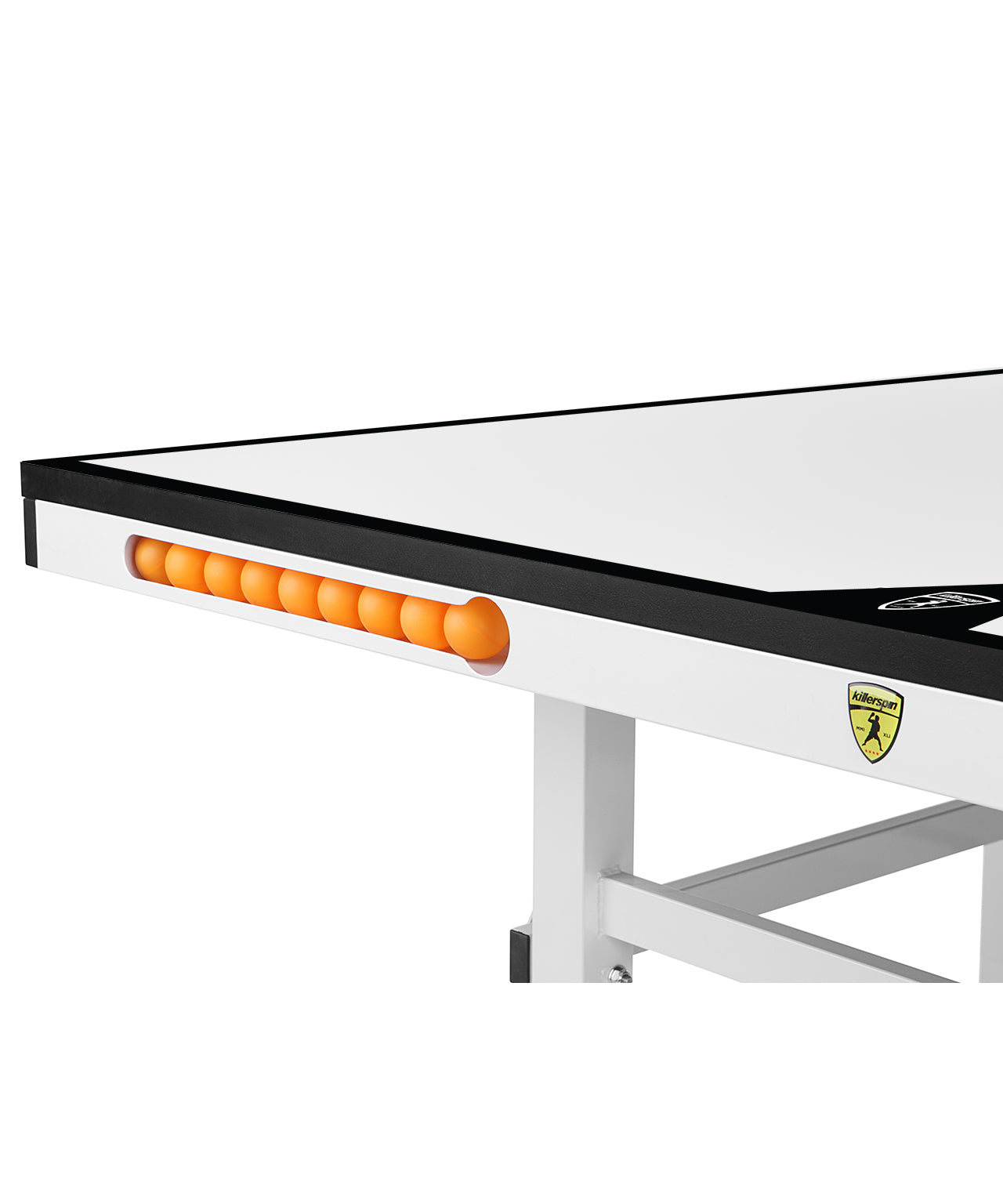 Killerspin MyT Ping Pong White Table MyT10 Bianco Pure - Ball Pocket