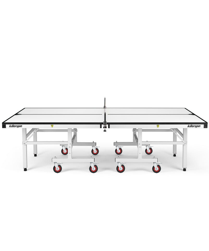Killerspin MyT Table Tennis White Table MyT10 Bianco Pure - Side