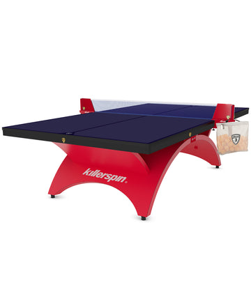 Killerspin Revolution SVR Table Tennis Table Red1
