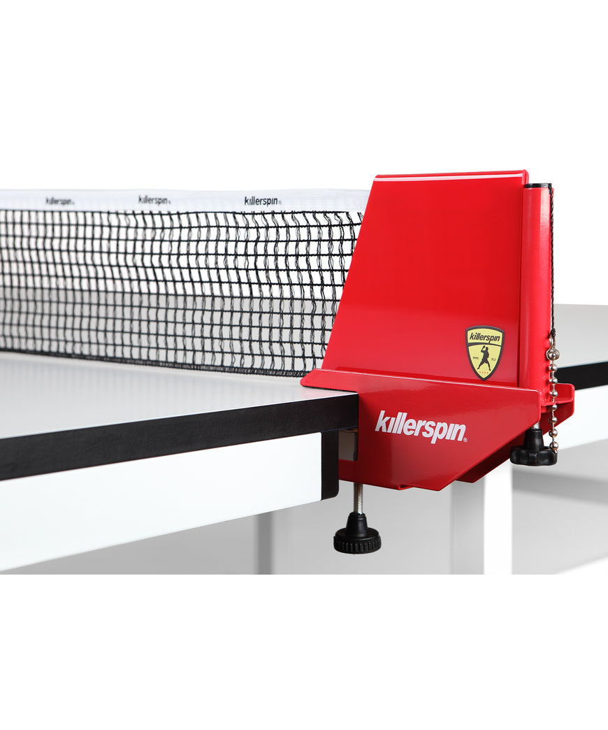 Killerspin Ping Pong Table Net Cap Red
