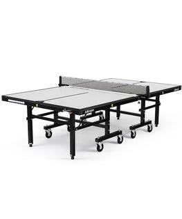 Killerspin Indoor Ping Pong Table UnPlugNPlay415 Max Vanilla Black frame White top model 2020