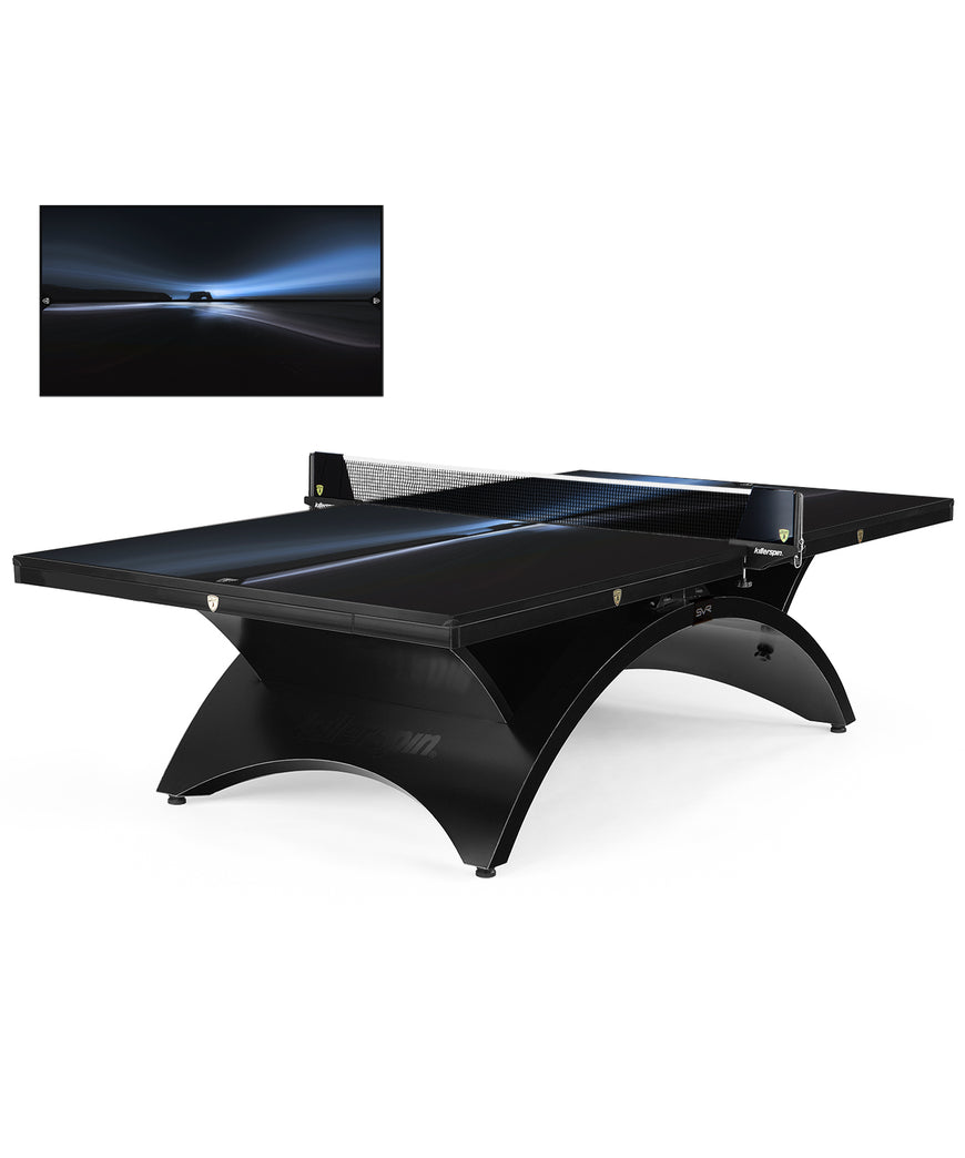 Killerspin Revolution SVR Ping Pong Table Designer Series BlackSteel