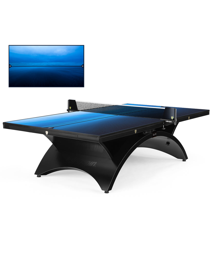 Killerspin Ping Pong Table Designer Series Revolution SVR BlackSteel