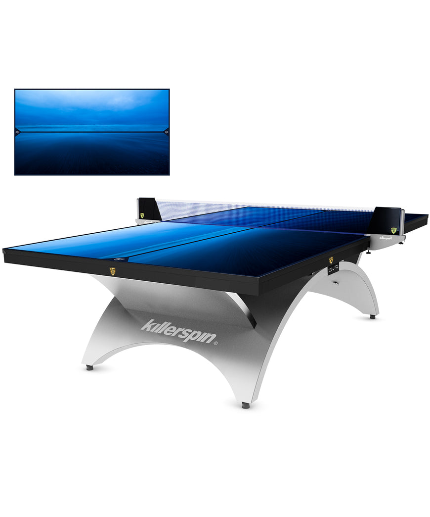 Killerspin  Revolution SVR Table Tennis Table Designer Series Silver1