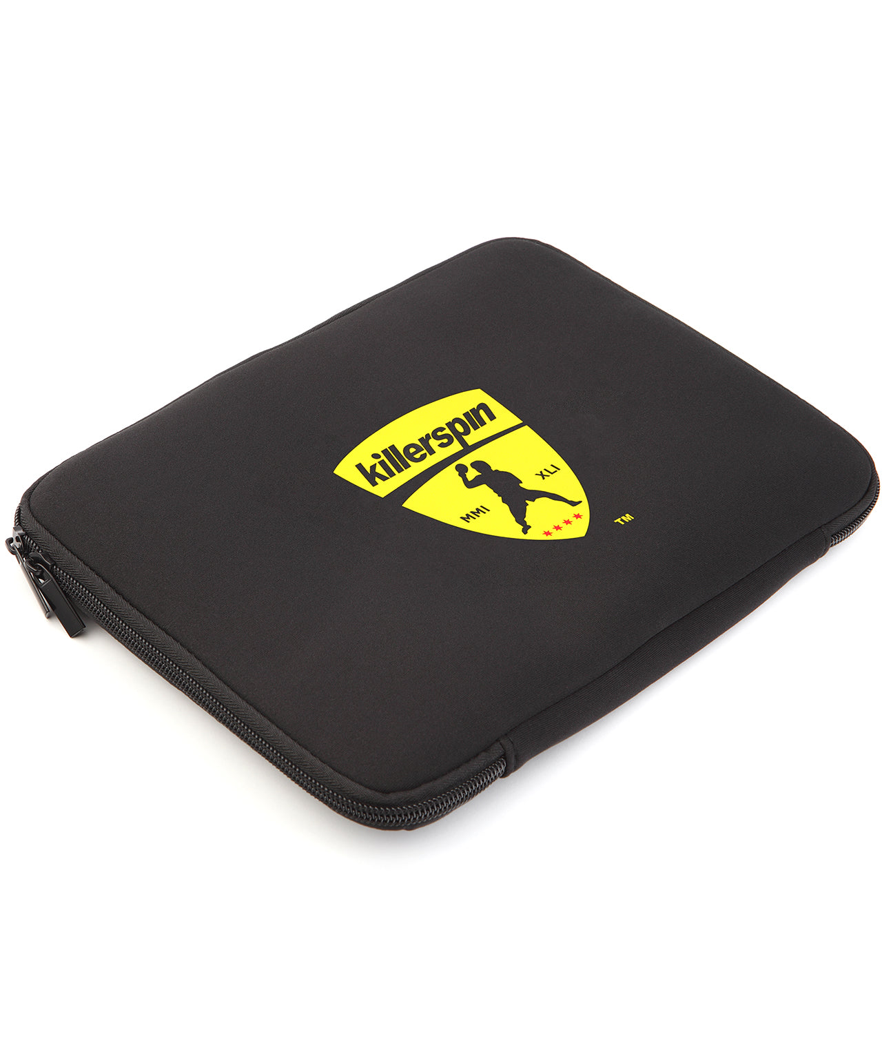 Killerspin Jet Black Combo Ping Pong Paddle Case - Logo