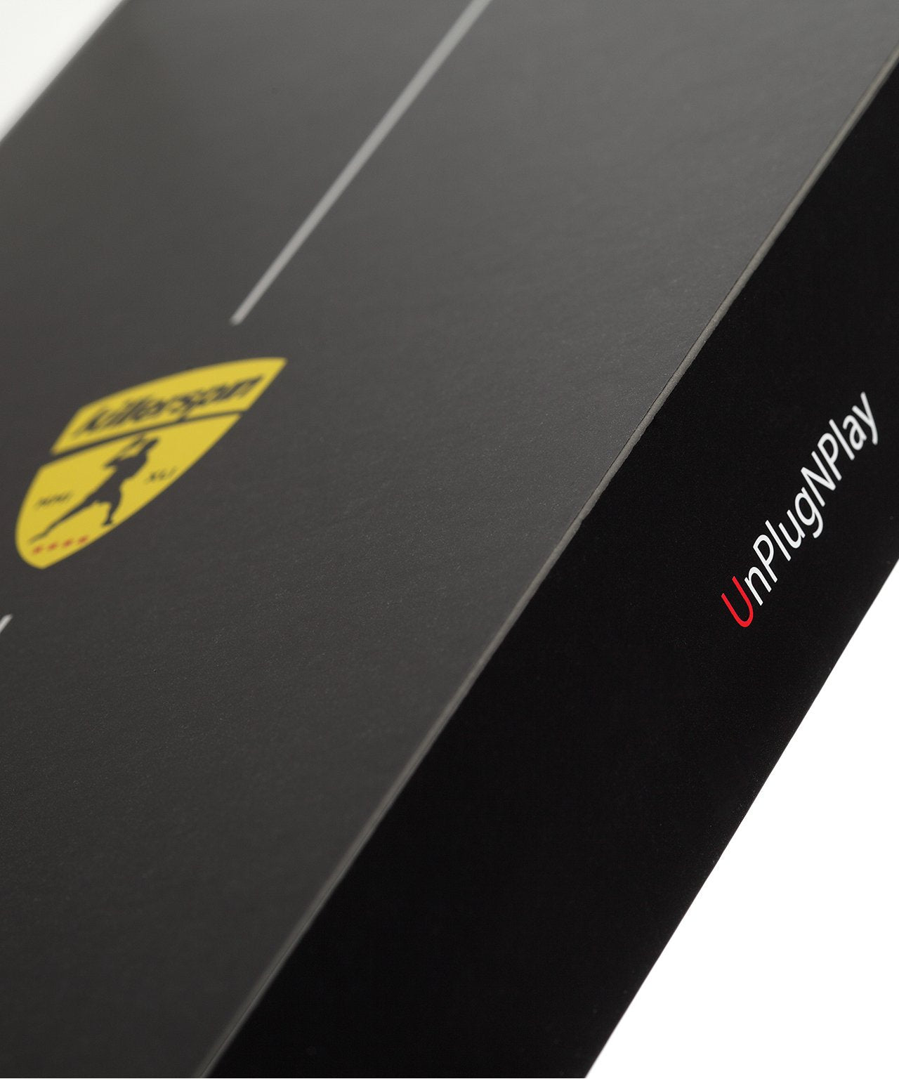 Killerspin Black Memory Book Ping Pong Paddle Box - UnPlugNPlay Logo