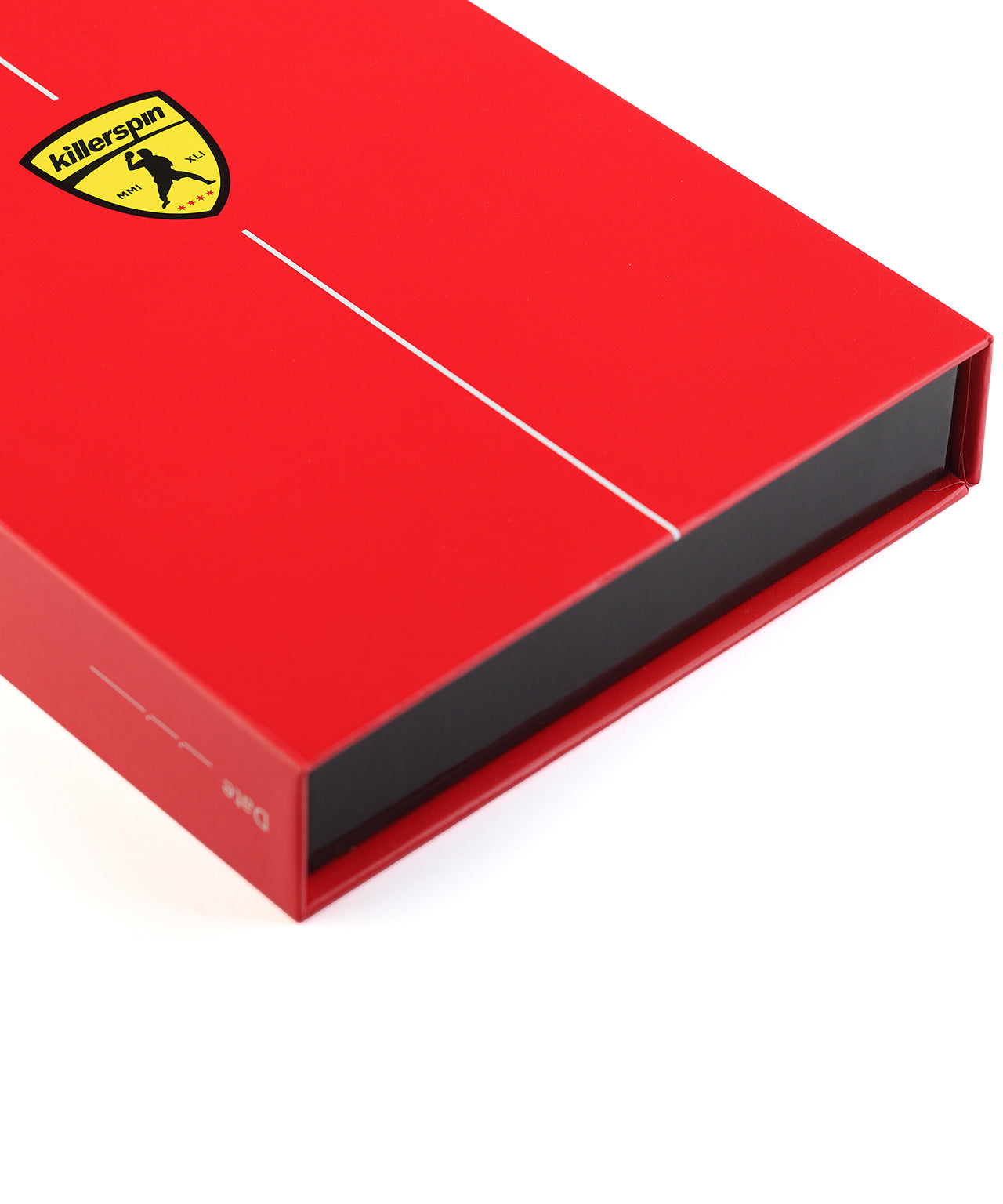 Killerspin Red Memory Book Ping Pong Paddle Box - Logo
