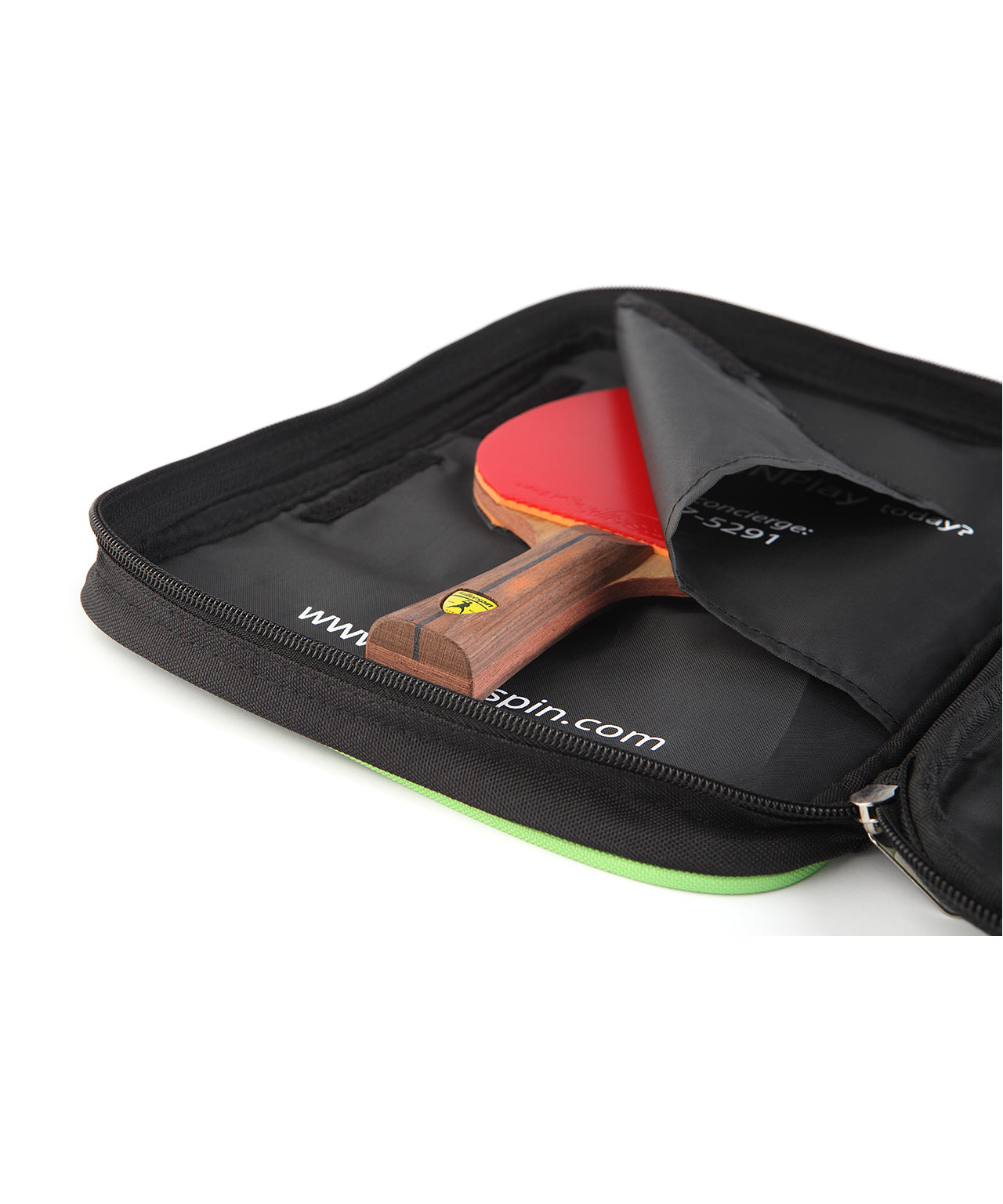 Killerspin Optima Ping Pong Paddle Case Paddle Package