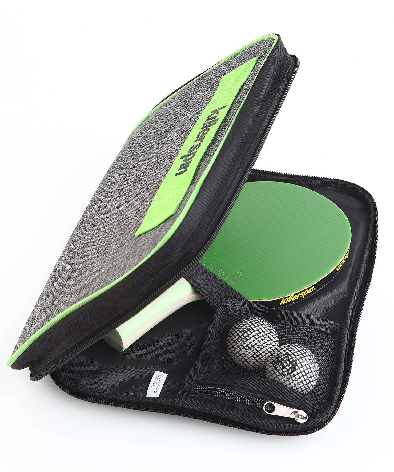 Killerspin Optima Table Tennis Case Racket Package