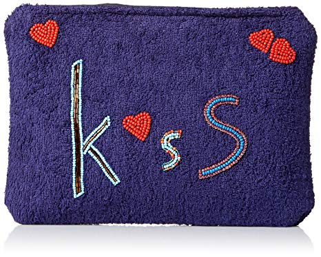 Ale Kiss Blue/Red Clutch