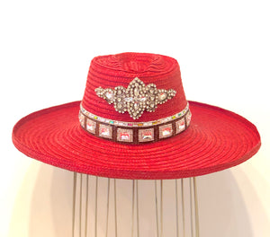 Sombreros de Pindo Red Crystal