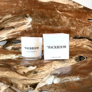 The Backroom Green Tea & Lemongrass Candle