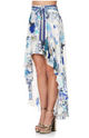 Camilla High-Low Whitesid Skirt