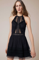 Charo Ruiz Andrea Black Short Dress