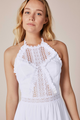 Charo Ruiz Andrea White Short Dress