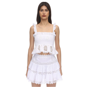 Charo Ruiz Ursula white Top