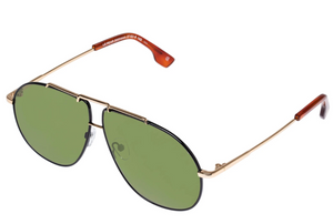 Le Specs Le Pear Gold Blackmoss