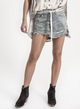 One Teaspoon Vanguard Mr Relaxed Mini Skirt