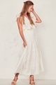 Love Shack Fancy Cressida Dress Ivory