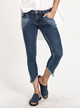 One Teaspoon Cali Blue Freebirds II Low Waist Skinny Jeans