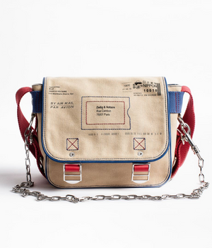 Zadig & Voltaire Readymade Canvas Bag