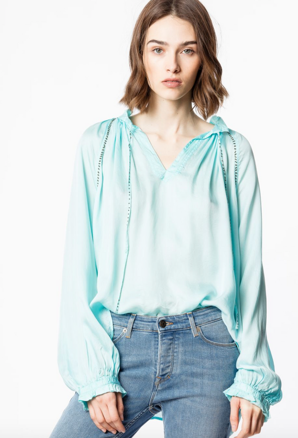 Zadig & Voltaire Theresa Tunic Blouse