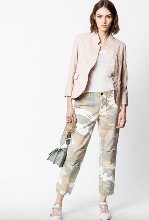 Zadig & Voltaire Palma Camou Trousers