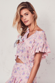 Love Shack Fancy Laurel Top Pink