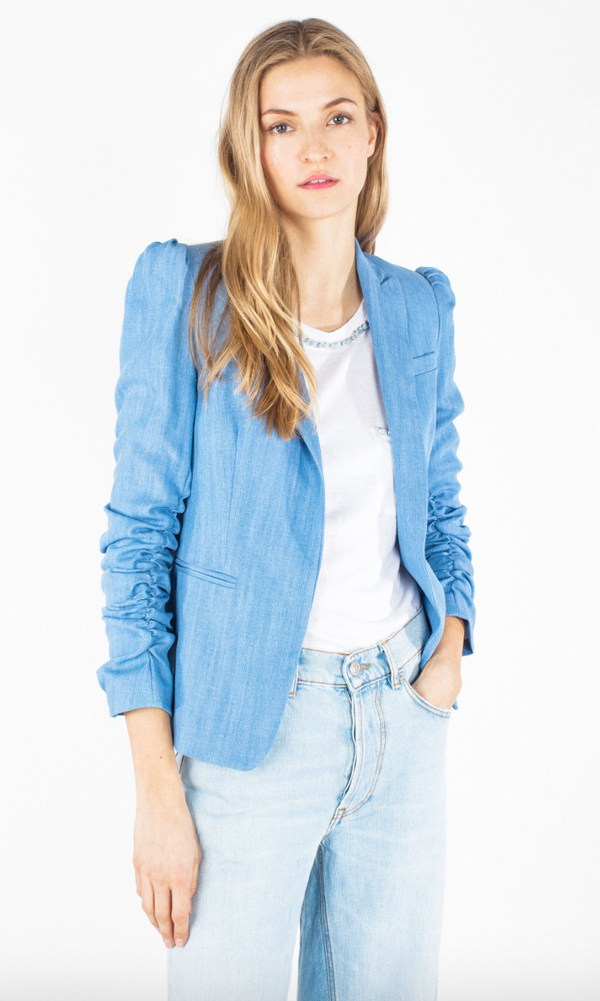Generation Love Juniper Blazer Blue