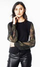 Generation Love Noelle Camo Top