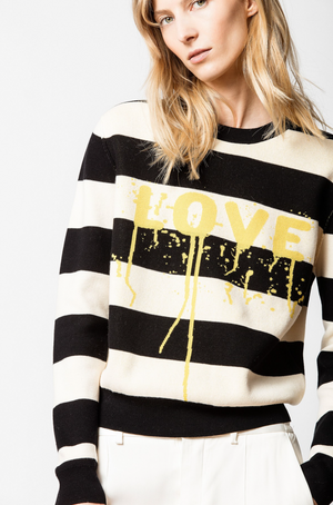 Zadig & Voltaire Life Co Love Jumper