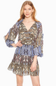 Parker Gladis Dress Python Multi