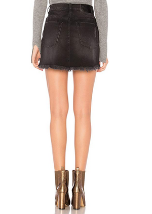 One teaspoon 2020  Mini HW Skirt Black