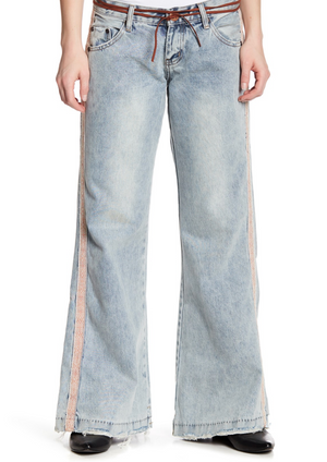 One Teaspoon Westenders Boot Cut Jeans