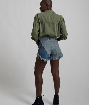 One Teaspoon Pacific Roller Denim Short