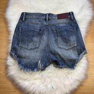 One Teaspoon Blue Suede Super Freaks Short