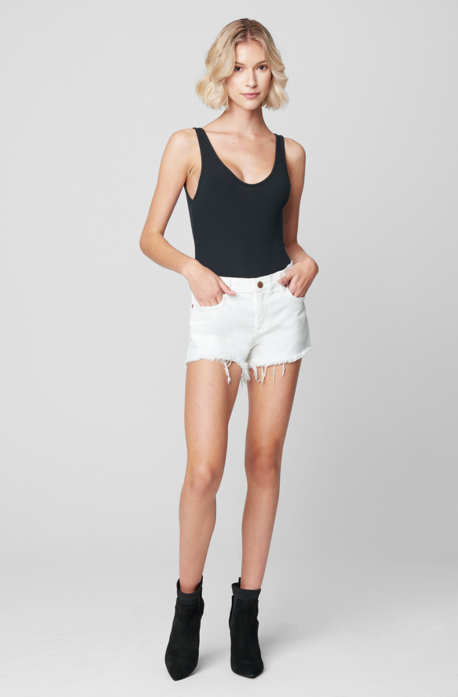 Blank NYC Great White Short