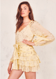 Love Shack Fancy Sunflower Rina Dress