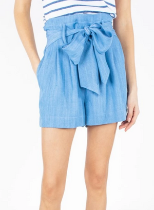 Generation Love Asher Tie Blue Short