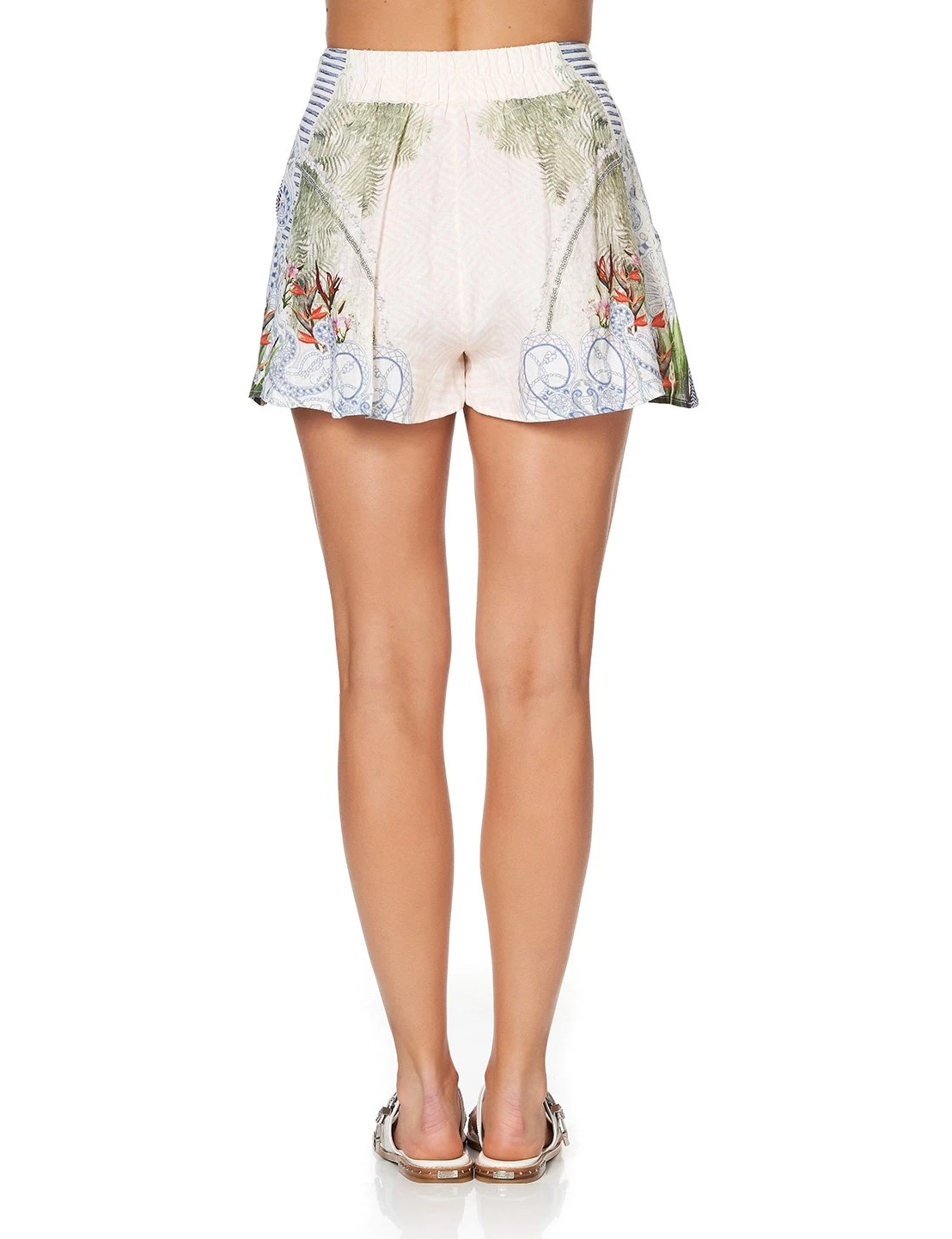 Camilla Lace Up Front Beach Shack Short