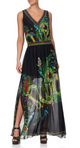 Camilla River Cruise Side Split Overlay Skirt