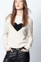 Zadig & Voltaire Lili Heart Sweater