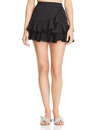 Charo Ruiz Fera Black Short Skirt