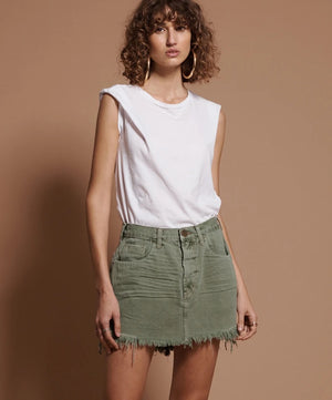 One Teaspoon Super Khaki Vanguard Skirt