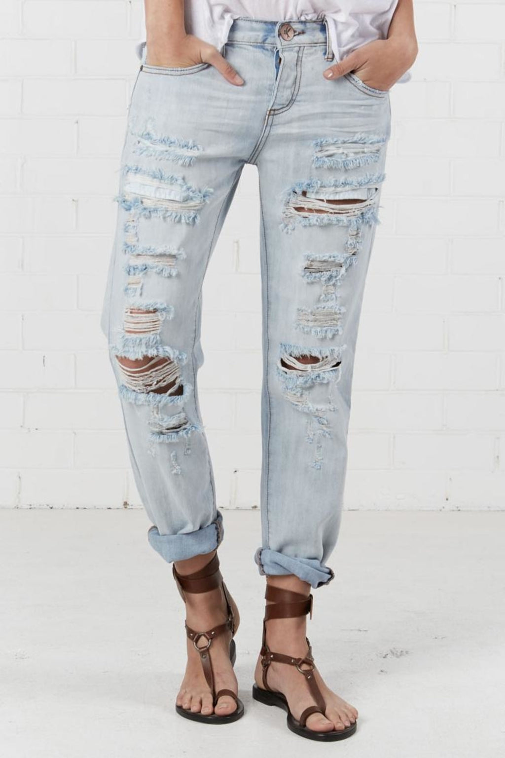 One Teaspoon Hamptoms Awes Baggies Jean