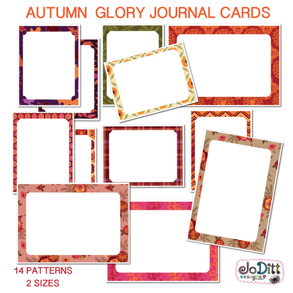 Journal Cards & Templates