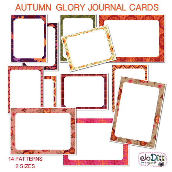 Autumn Glory Journal Cards