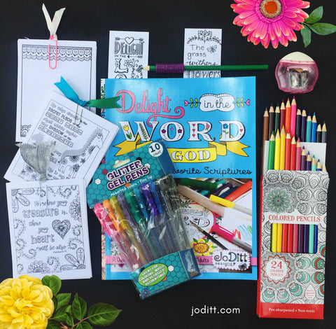 Delight in The Word Coloring Bundle