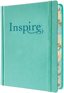Inspire Bible NLT: The Bible for Creative Journaling, Hardcover
