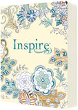 Inspire Bible NLT: The Bible for Creative Journaling, Softcover